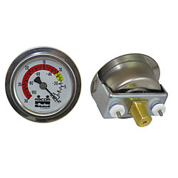 1/4IN NPT VACUUM GAUGE 0-30 HG
