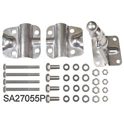 SS SHORT BOLT CLEVIS KIT FOR OB & IB