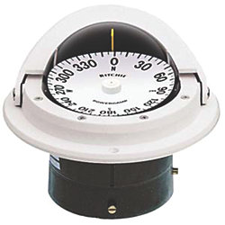 FLUSH MT. VOYAGER COMPASS-OPEN, WHT