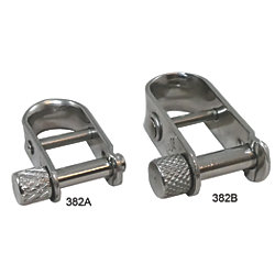 HALYARD SHACKLE LONG TYPE FOR ROPE