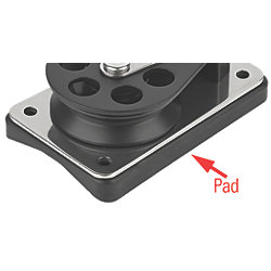 SCH 55-61 MOUNTING PAD FOR CHEEK BLOCK