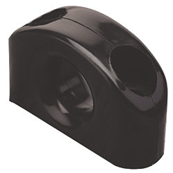 NYLON FAIRLEAD BLACK  5/8IN EYE