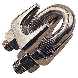 STAINLESS WIRE ROPE CLIP 3/32IN
