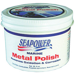 8OZ. CAN SEAPOWER METAL POLISH