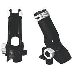 TWIN PACK ROD HOLDER W/ FLUSH MOUNT
