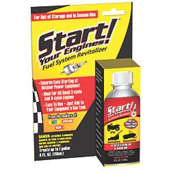 START YOUR ENGINE FUEL ADDITIVE 4 OZ.