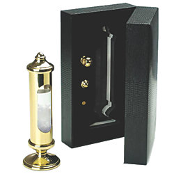 STORMGLASS BRASS INCL. BRACKET AND BOX