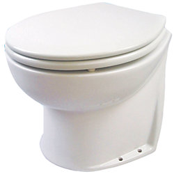 12V 14IN DLX FLUSH TOILET VERT/FRESH H2O