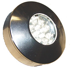 12V 12W CHR BAMAKO LED RND SURFACE MT