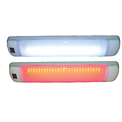 12V MAPUTO MULTI PURPOSE LIGHT RED/WHT