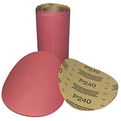 6IN P120 RED ABRASIVE STIKIT DISC (100)