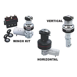 Electric Winch Kit - 50A