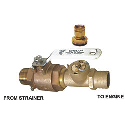1IN FLUSH KIT & VALVE