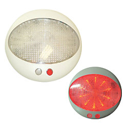8-30V PRAGUE LED LIGHT RED/WHT W/DIMMER