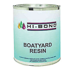 40LB BOAT YARD POLY RESIN W/HARDENER