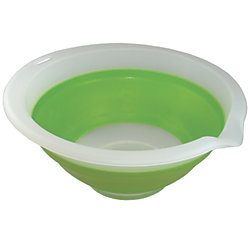 COLLAPSIBLE BOWL 3 QT GREEN