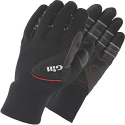 THREE SEASON GLOVES  BLACK M