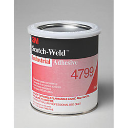 QT SCOTCH-WELD ADHESIVE 4799 BLK