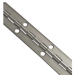 1-1/2IN X 6FT STAINLESS PIANO HINGE