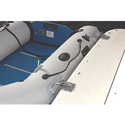 INFLATABLE BOAT DAVIT GREY PAD