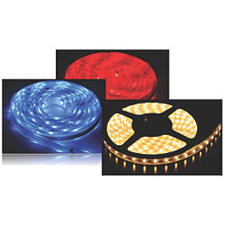 5 METER OUTDOOR STRIP LED RED