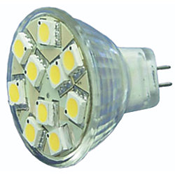 MR11 BULB 10 LED COOL WHT