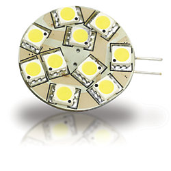 G4 BULB SIDE PIN 10 LED COOL WHT