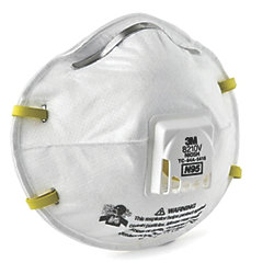 8210V N95 PARTICULATE RESPIRATOR (10)