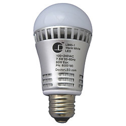 MED SCREW LED BULB 60 W EQV