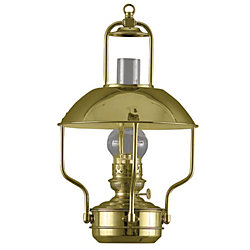 POL BRASS CLIPPER OIL LAMP