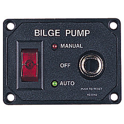 BILGE PUMP SWITCH-W/CIRCUIT BREAKER