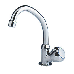 TAP WITH SWIVEL J SHAPED SPOUT