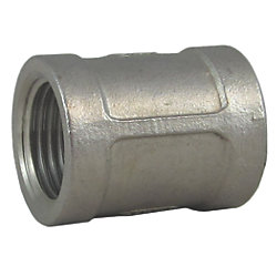 1IN NPT SS COUPLING