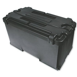 COMMERCIAL BATTERY BOX  GROUP 4D BLK
