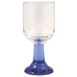 LARGE GOBLET 10.5OZ PACIFIC BLUE