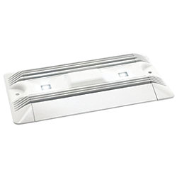F-17 LED Aluminum Utility Light, 10-30V DC
