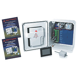 AC Fan Control System - Pressure & Temperature Monitoring with Automatic or Manual Modes