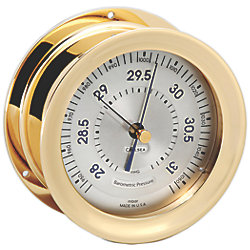 Polaris Barometer - Brass