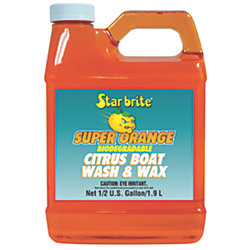 1/2GA SUPER ORANGE CITRUS WASH & WAX