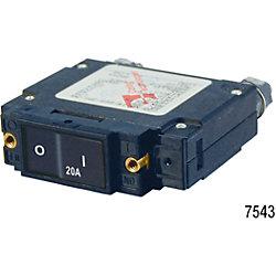 20A C1 FLAT ROCKER CIRCUIT BREAKER IP