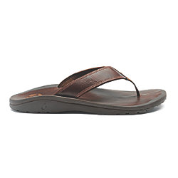 MNS OHANA LEATHER SANDAL JAVA/JAVA 12