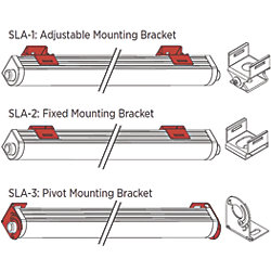 S-LINE ADJUSTABLE MTG BRACKET