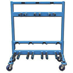 STERN DRIVE STAND STORAGE RACKS - 7 UNIT