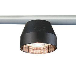 12V BLK HAMBURG SPREADER LIGHT HALOGEN