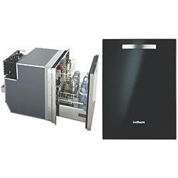 DRAWER 65 BLK GLASS REF/FRZR 2.3CF AC/DC