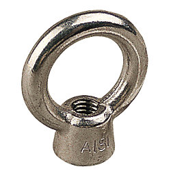 STAINLESS EYE NUT, 1/2IN