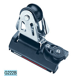 SB 22mm 2:1 CB Genoa Lead Car w/Sheave