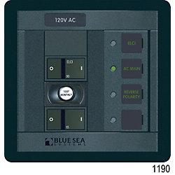 Panel 360 120VAC 1pos w/ELCI Main 30A FR