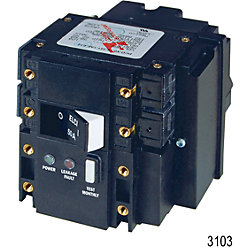 ELCI 120VAC 50A 2 Pole 30mA FR