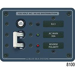 Panel 120VAC ELCI Main 30A